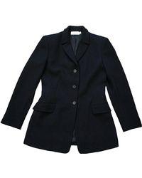 CALVIN KLEIN 205W39NYC Wool Blazer - Black