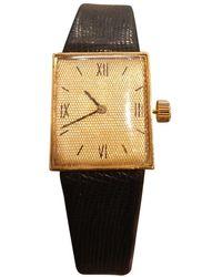Van Cleef & Arpels Yellow Gold Watch - Metallic