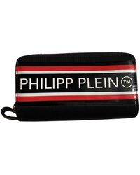 Philipp Plein Black Synthetic Small Bag Wallets & Cases
