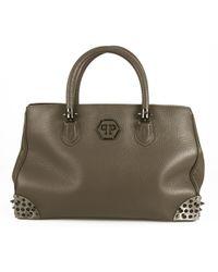 Philipp Plein - Pre-owned Leather Handbag - Lyst