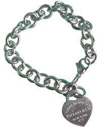 Tiffany & Co. Return to Tiffany Silber Armbänder - Blau