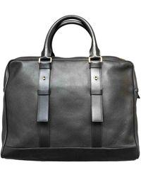 Tom Ford Leather Satchel - Black