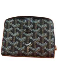 Goyard Cloth Wallet - Black