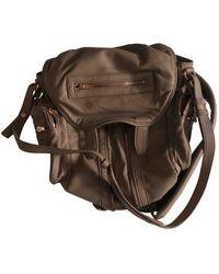 Alexander Wang Marti Camel Leather Backpacks - Multicolour