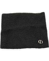 Dior Black Cloth Hair Accessories