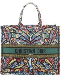 ff0586afe Vestiaire Collective. Dior - Book Tote Cloth Tote - Lyst