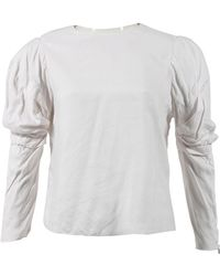 Acne Studios - White Top - Lyst