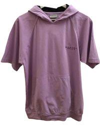Carven Purple Cotton Top