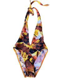 Dior Vintage Multicolour Synthetic Swimwear