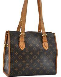 Louis Vuitton Popincourt Brown Cloth Handbag