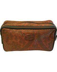 Etro - Pre-owned Cloth Purse - Lyst