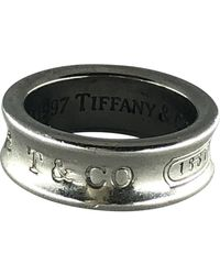 Tiffany & Co. Tiffany 1837 Silber Ringe - Mettallic