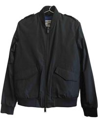Zadig & Voltaire \n Blue Polyester Leather Jacket