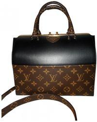 Louis Vuitton Speedy Doctor 25 Leather Handbag - Black