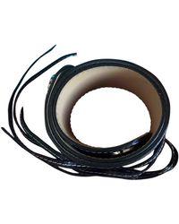 Lancel Leather Belt - Brown