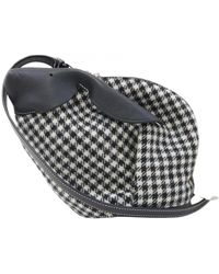 Loewe Animals Cloth Handbag - Black