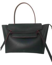 Céline Belt Leder Handtaschen - Schwarz