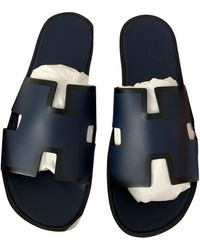 Hermès Izmir Leder Sandalen - Mehrfarbig