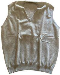 Brunello Cucinelli Cashmere Vest - Natural