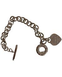 Tiffany & Co. Braccialo in argento argentato Return to Tiffany - Metallizzato