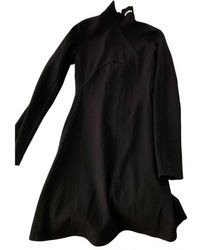 CALVIN KLEIN 205W39NYC Wool Mid-length Dress - Black