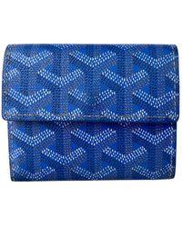 Goyard Malesherbes Cloth Purse - Blue