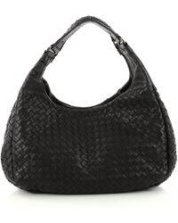 Bottega Veneta - Veneta Leather Handbag - Lyst