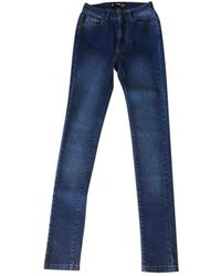 The Kooples Fall Winter 2019 Slim Jeans - Blue