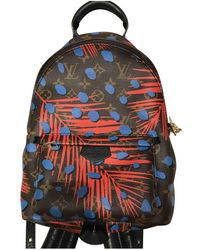 Louis Vuitton | Pre-owned Palm Springs Cloth Backpack | Lyst