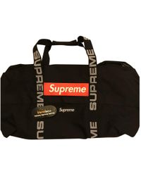 Supreme - Pre-owned Travel Bag - Lyst