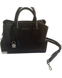 Michael Kors Mercer Leather Handbag - Black