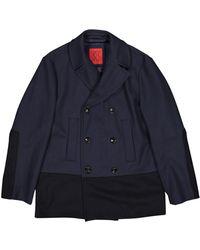 Carolina Herrera \n Blue Wool Jacket