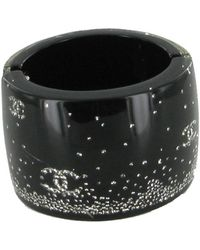 Chanel - Black Bracelet - Lyst