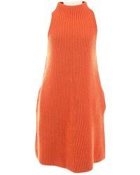 Stella McCartney Jersey en lana naranja