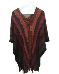 Missoni Wool Cape - Multicolour