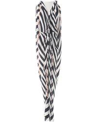 Lanvin - White Silk Dress - Lyst