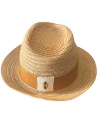 Hermès Vintage Beige Wicker Hats - Natural