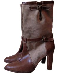 Michael Kors \n Other Leather Ankle Boots - Brown