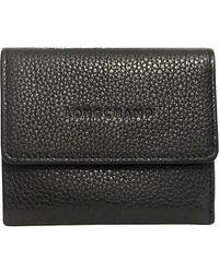 Longchamp Portefeuilles en Cuir Noir