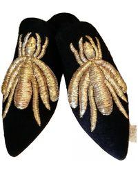 Sanayi 313 Cloth Mules & Clogs - Black