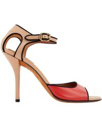 Givenchy - Leather Heels - Lyst
