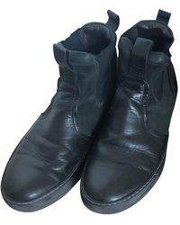 Lanvin Leather Boots - Black