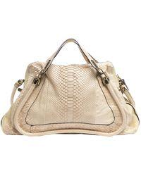 Chloé - Paraty Yellow Leather Handbag - Lyst