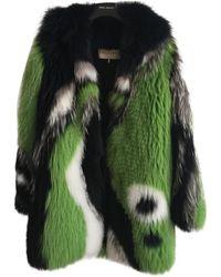 Emilio Pucci Fox Coat - Green