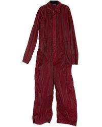 Dries Van Noten Suit - Red