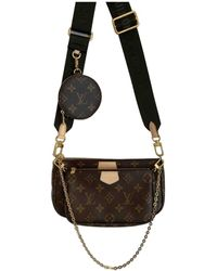 Louis Vuitton Multi Pochette Access Cloth Crossbody Bag - Brown