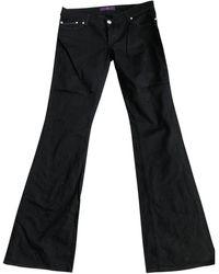 Victoria Beckham Bootcut jeans - Schwarz