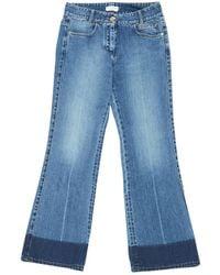 Sonia Rykiel - Blue Cotton Jeans - Lyst