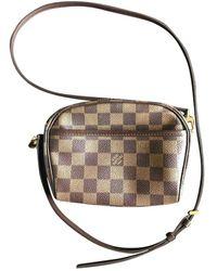 Louis Vuitton Ipanema Leinen Cross body tashe - Braun
