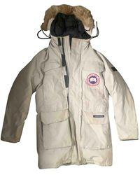 Canada Goose Expedition Parka - Weiß